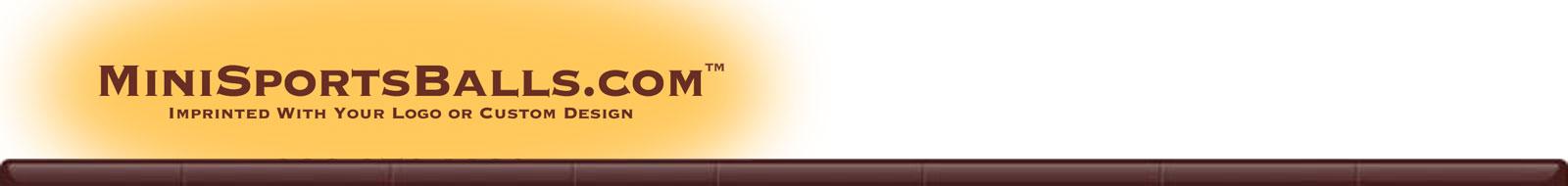 MiniSportsBalls.com Header